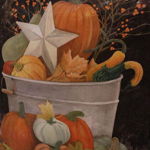 Pumpkins Premium Garden Flag