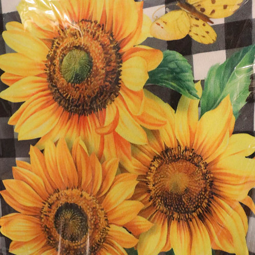 Sunflowers Premium Garden Flag