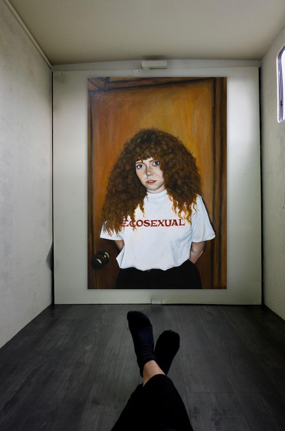 Eilish Dwyer -Eliza (2019) Oil on canvas (70 x 50 cm) - Courtesy of the artist.