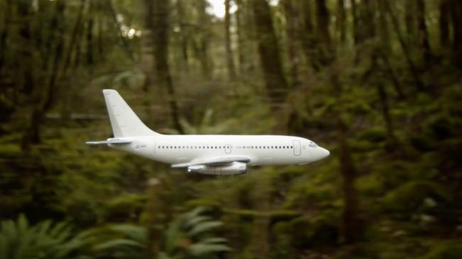 Miranda Bellamy - Carte Blanche (2011) – New Zealand – 1min5sec (looped)-  Digital video and sound