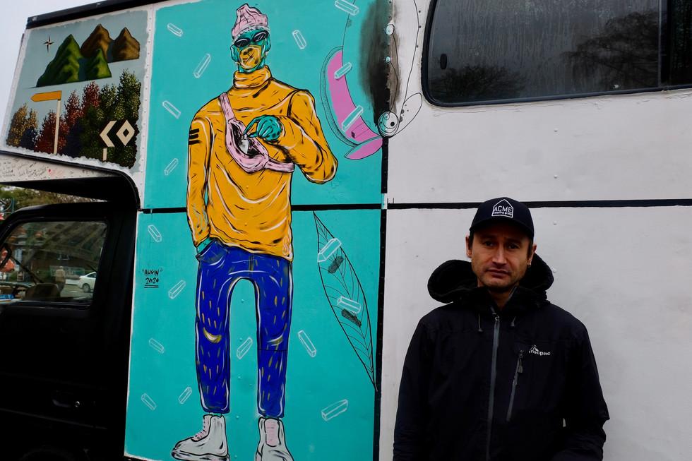 Naith Morrow - tatoo artist Christchurch