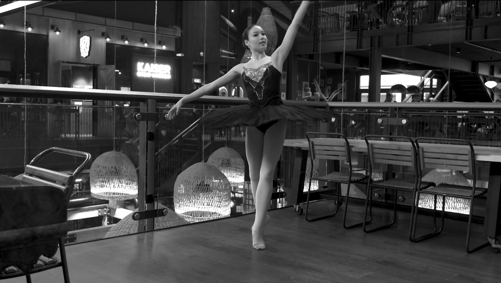 Ballerina Sonia Woods