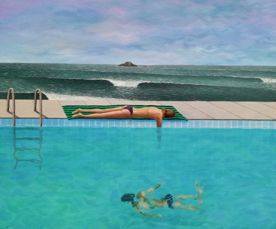 Justin Summerton - Giselle in the Salt Water Pool (2018)
