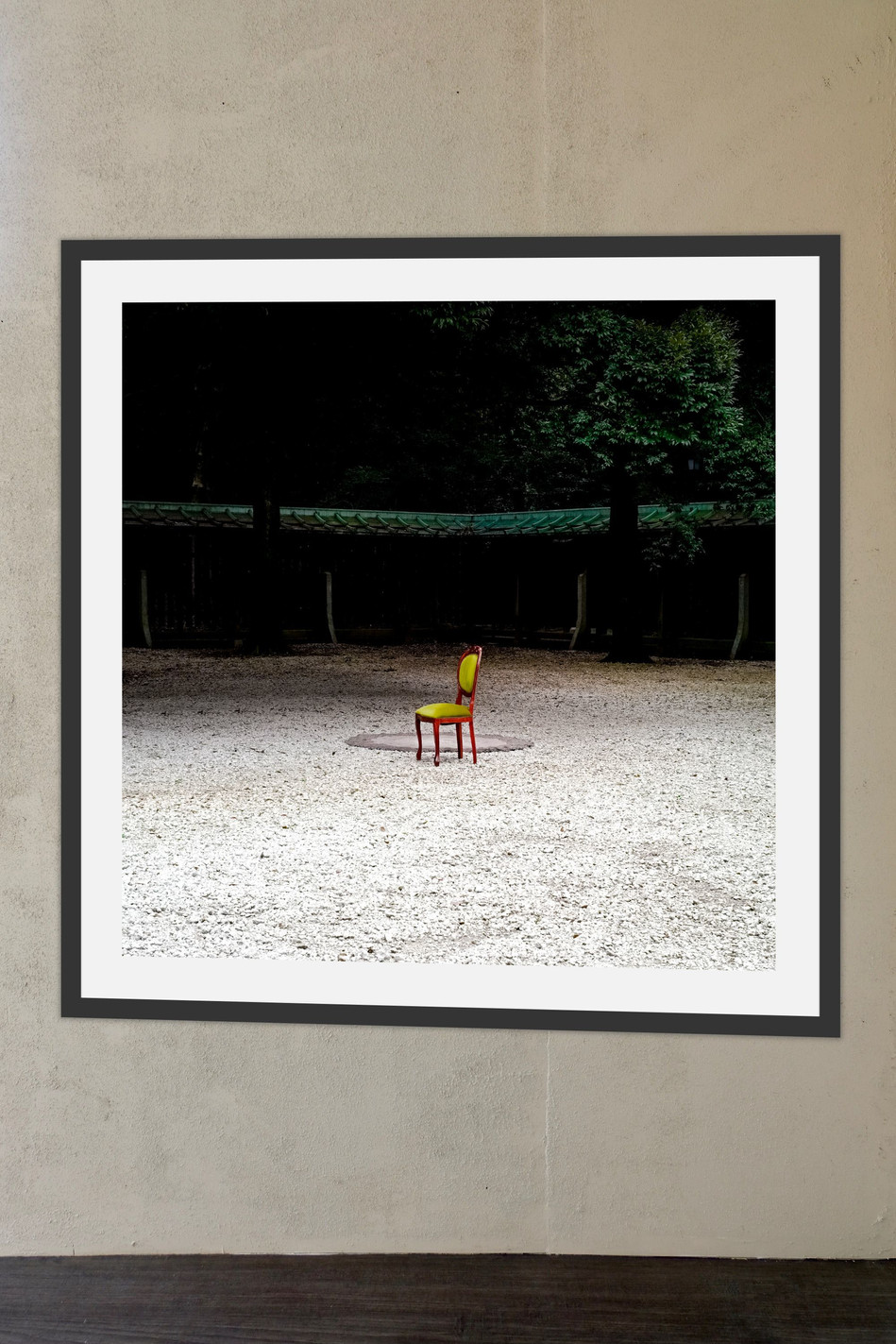 Gil Eva Craig - Heterotopian borders (2018) - Printed; edition of 6  (33x33cm) - Courtesy of the artist.