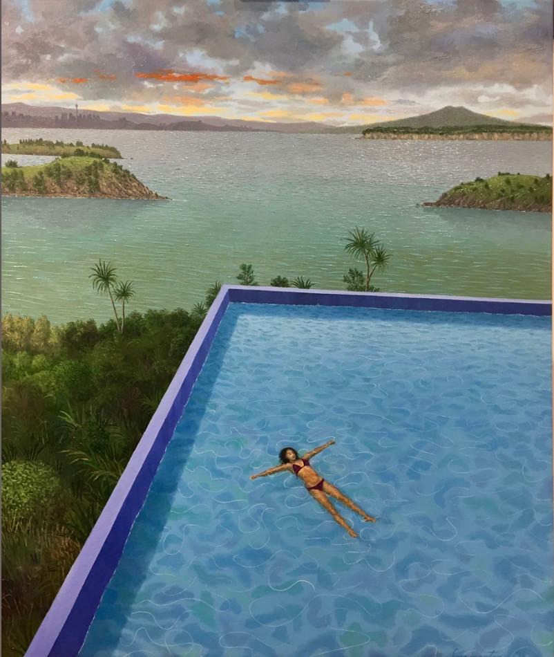Justin Summerton - Pool Matiatia (Waiheke) (2018)