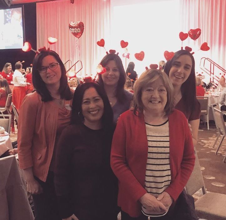 Clark Nuber Ladies at AHA Lunch 2019