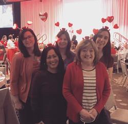 Clark Nuber Ladies at AHA Lunch 2019
