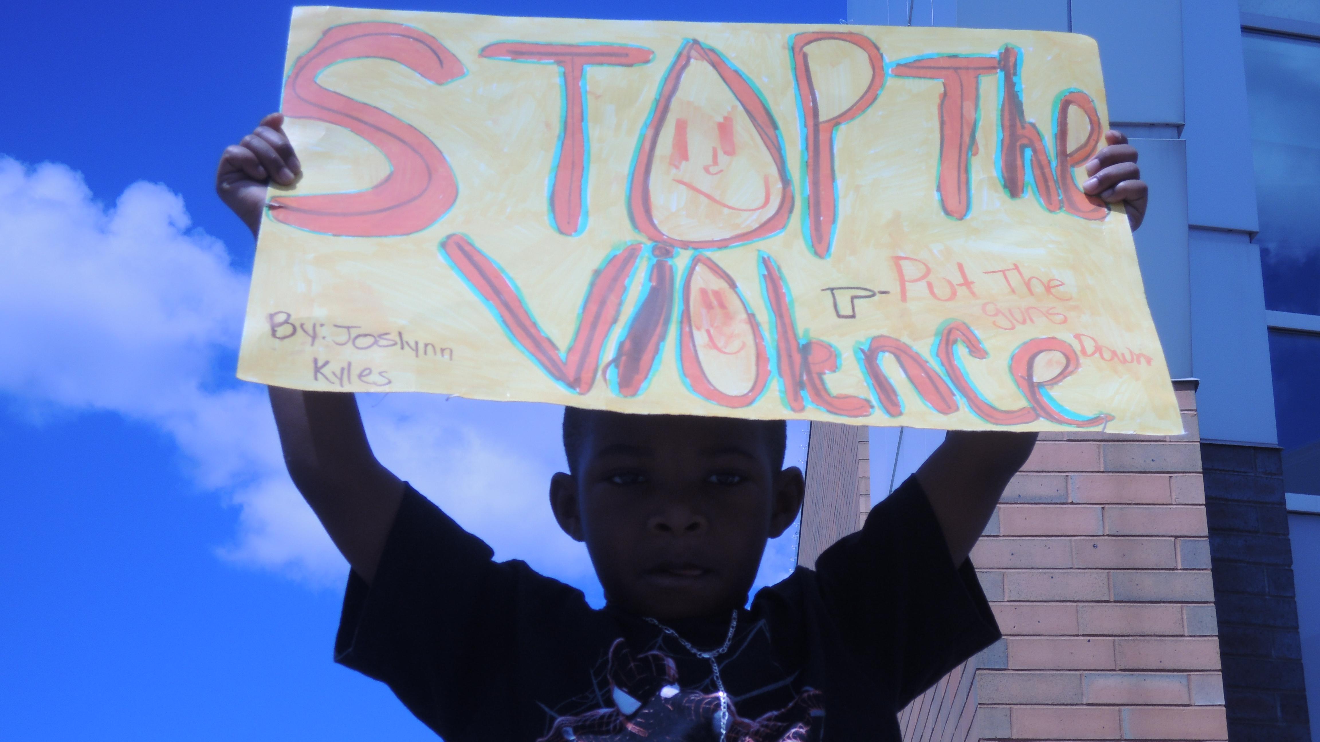 Stop The Violence Rally