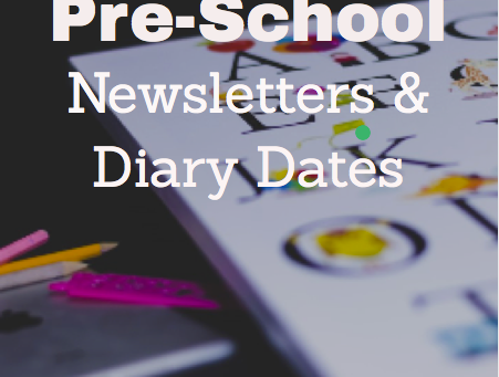 Pre School Newsletter