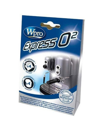 קיט ניקוי למכונות קפה - express o2