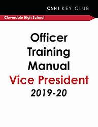 Officer Training - Vice President 2019-2