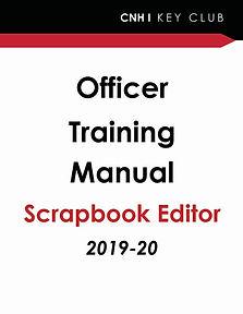 Officer Training - Scrapbook Editor  201