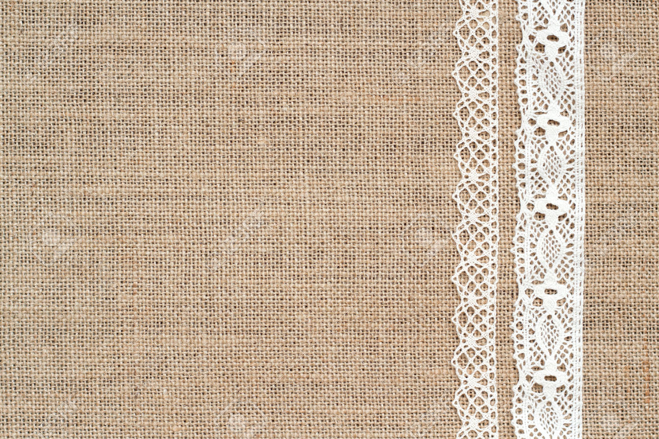 Photo Collection Burlap And Lace Wallpaper