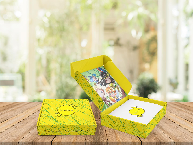 Budak packaging