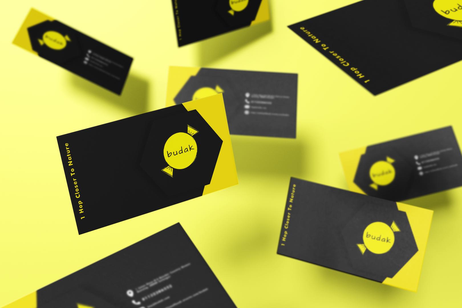 Budak business card