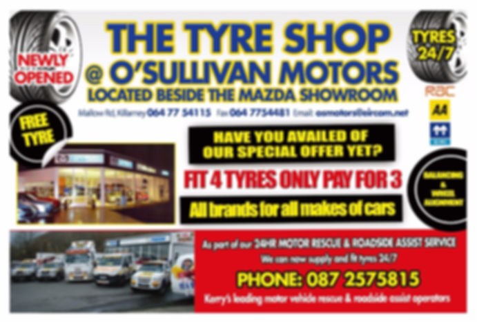 Tyre Shop O'Sullivan Motors