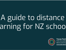 Distance Learning for NZ Schools