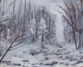 Winter Tipped Woods