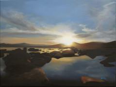 Tahoe Pool Sunset