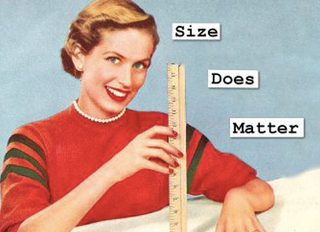 Does size matter?