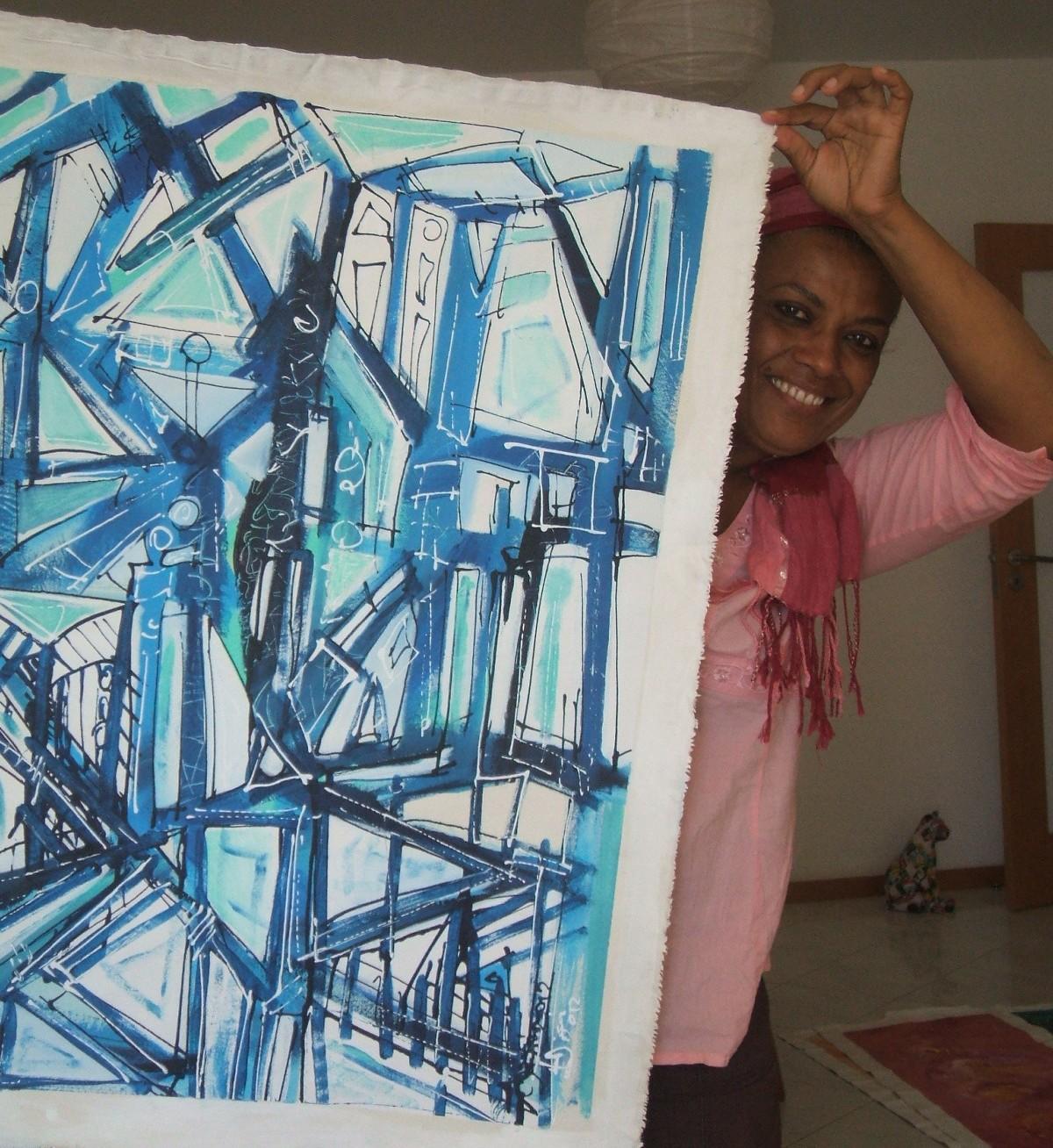 Misa e o seu bem pintar