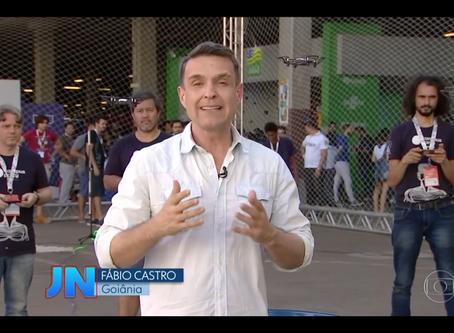 Drone Lab Brasil é destaque no Jornal Nacional e outras mídias na primeira semana de setembro