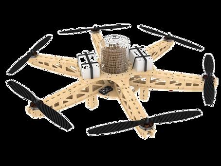 Drones semeadores para reflorestar o mundo