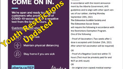 Update to Youth Restrictions Exemption Program