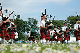 Piping and Drumming