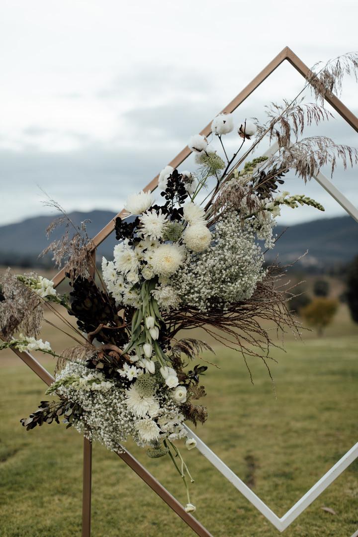 Floral Arbour Display