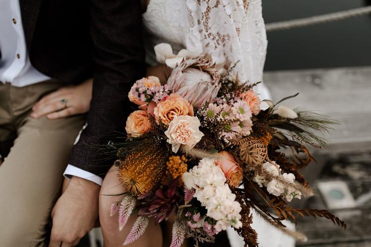 Earthy Autumn Bridal Bouquet