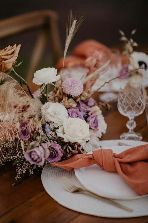 Micro Wedding Table setting