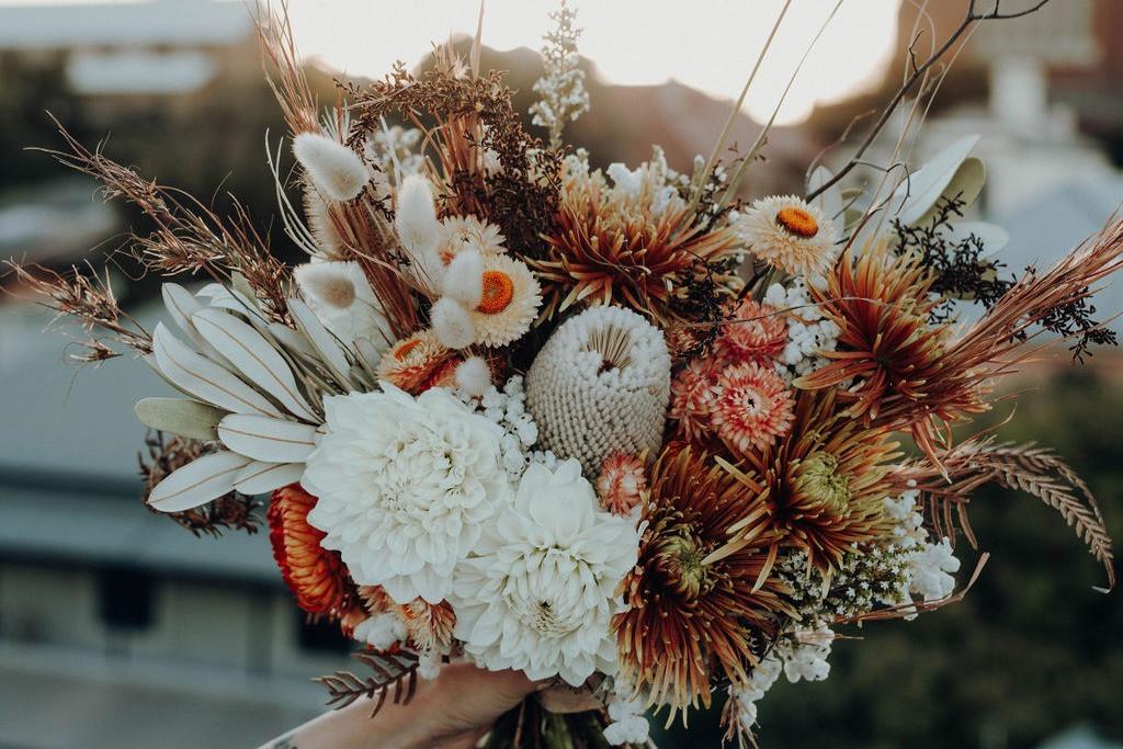 Autumn Inspired Bridal Bouquet