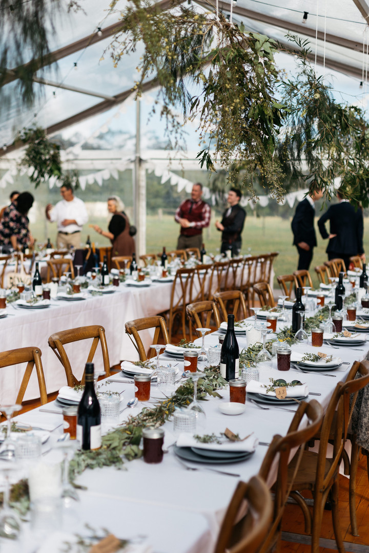 Natural Inspired Bush Wedding