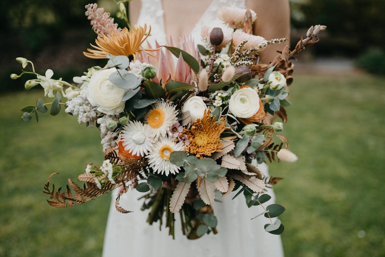 Bridal Bouquet Hunter Valley Wedding