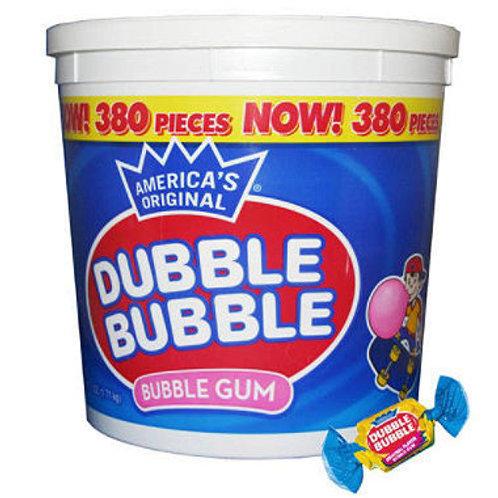Dubble Bubble Bubblegum - 380ct Tub