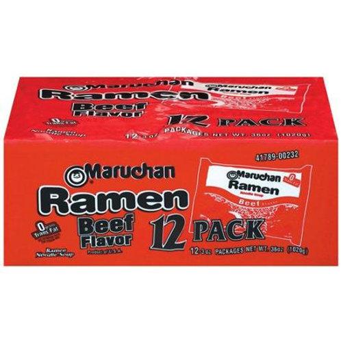 Maruchan Instant Lunch Beef Ramen Noodle 12 Pack