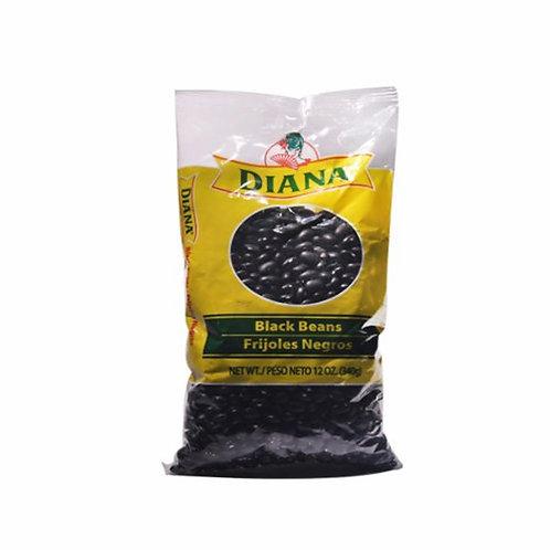Diana Dry Black Beans Bulk Dry Bags, 6 Bags/12 oz