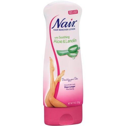 Nair™ with Soothing Aloe & Lanolin Hair Remover Lotion 9 oz.