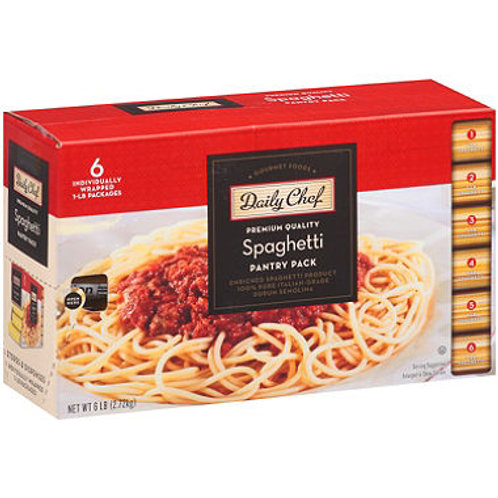 Spaghetti Pantry Pack - 1 lb. - 6 ct