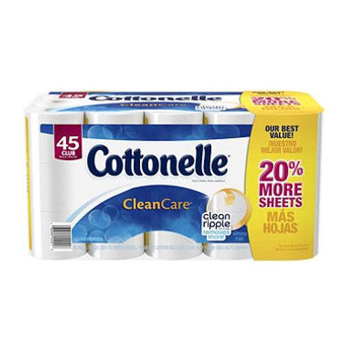 Cottonelle Clean Care Toilet Paper 45 Rolls