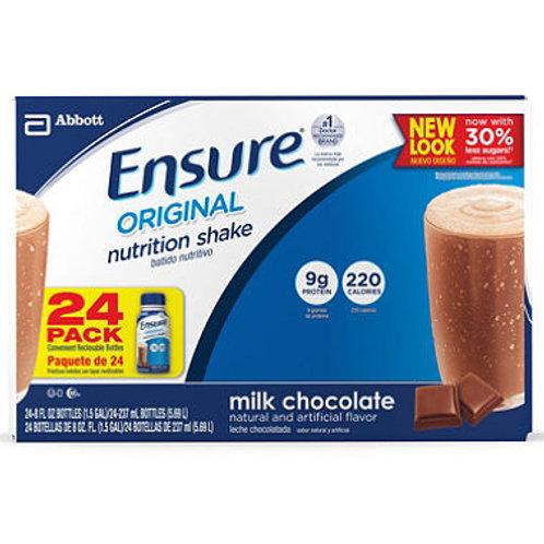 Ensure Nutrition Shake, Milk Chocolate 8oz., 24 ct