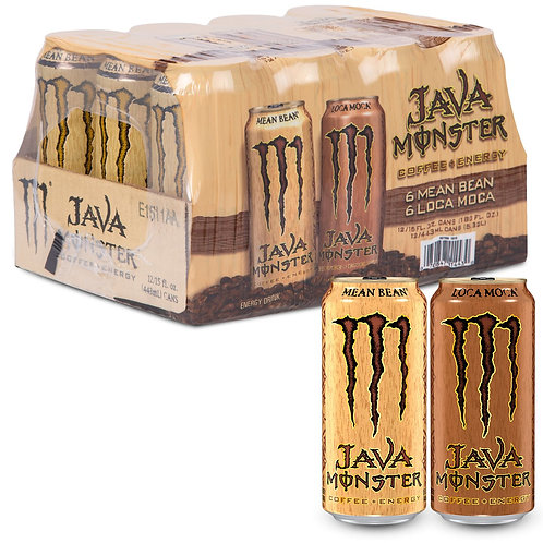 Monster Java Variety Pack 15 oz. cans, 12 ct