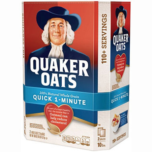 Quaker Oats Quick 1 Minute Oatmeal - 2/5 lb.