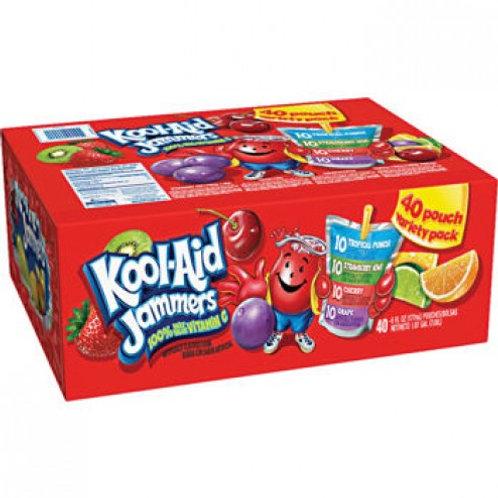 Kool-Aid Jammers, Variety Pack, 6 oz, 40 ct