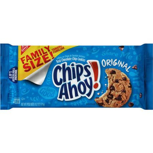 Nabisco Chips Ahoy! Chocolate Chip Cookie 18 oz