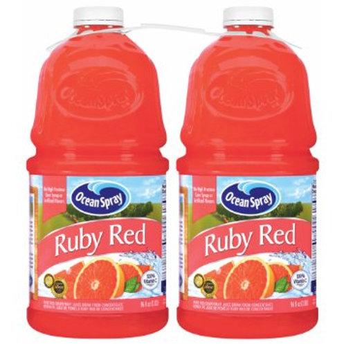Ocean Spray Ruby Red Grapefruit Juice 96 oz. bott