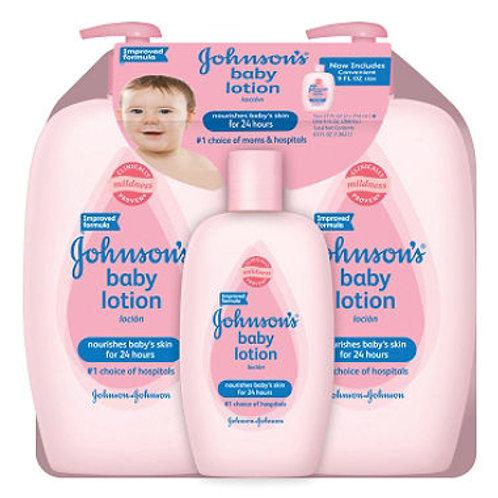 Baby Lotion Value Pack 2 - 27 fl. oz., 1 - 9 fl.