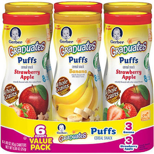 Graduates Cereal Snack, Variety Pack 1.48 oz 6 pk