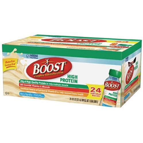 BOOST High Protein Drink, Vanilla 24 pk